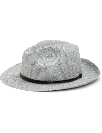 75% Paper 25% Poly Plaited Fedora