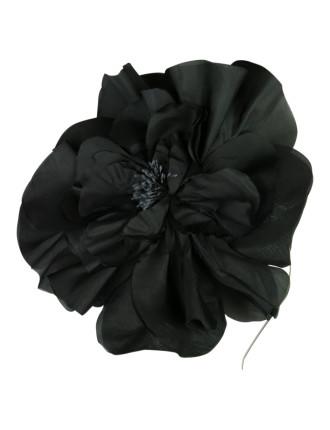 Silk Flower On Headband