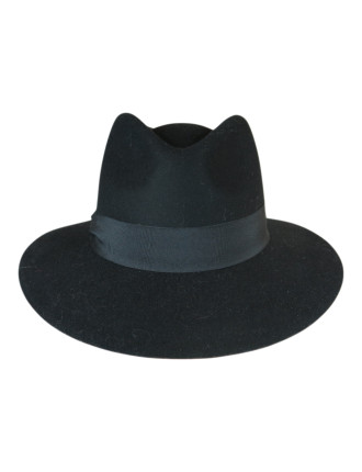 Felt Fedora With Pete Band