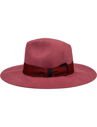 Women Hat Felt Fedora