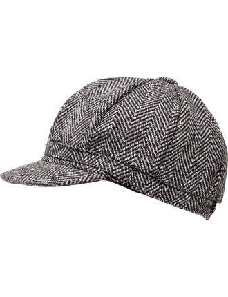 TWEED BAKER BOY CAP