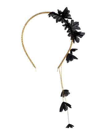 Asymmetric silk blossom clusters