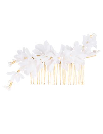 Silk blossom comb