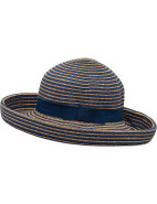 TWO TONE STRIPE BOATER $48.96 - $48.97