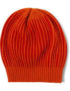Wool Blend Knitted Two tone Oversized Hat $29.95