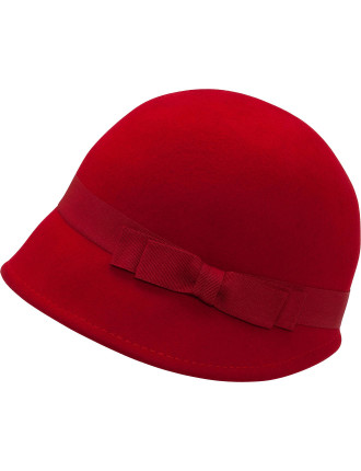 Jockey Cap With Bow