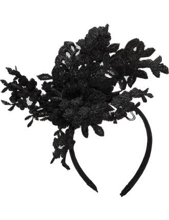 Cut Lace On Headband