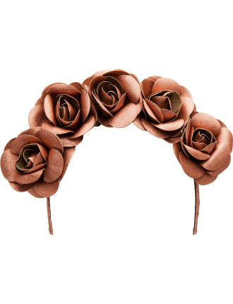 Leatherette Flower Garland