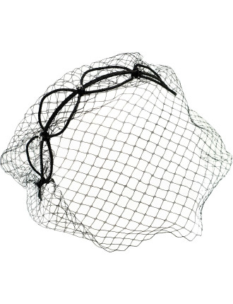 Circles/Netting Headband