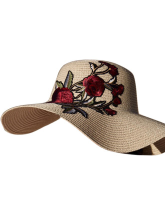 Embroidery Large Brim
