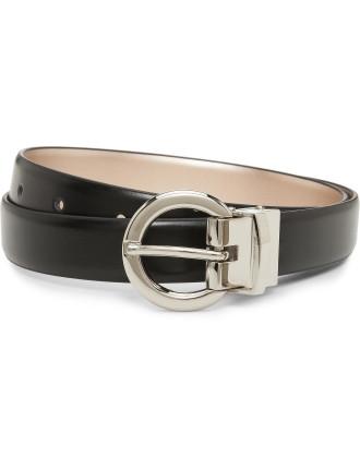 Italics 25mm Belt Reversible Classic Leather