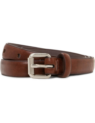 Pin Buckle Belt Brown
