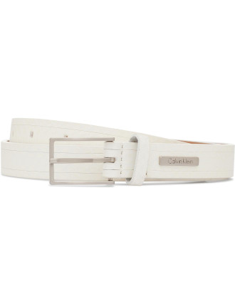 Inlay Genuine Snake Belt