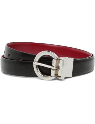 25mm Belt With Cherry Classic Leather