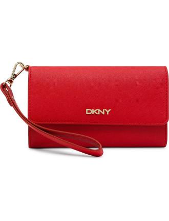 Dk S16 Tech Wallet With Detachable Wristlet