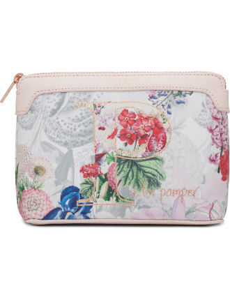 Hayleen Sml Floral A-Z Make Up Bag
