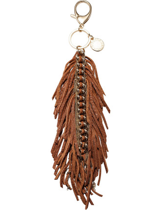 Feather Chain Key Fob