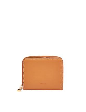Emma Zip Clutch Leather