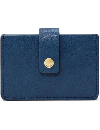 Mini Tab Wallet Leather