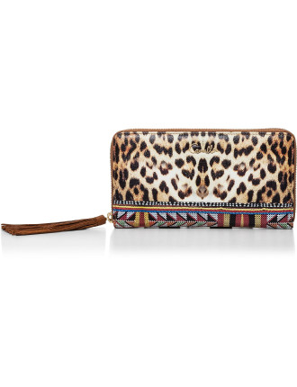 Kingdom Call Leopard Za Wallet