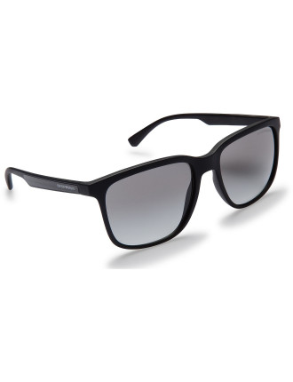 INJECTED MAN SUNGLASSES BLACK