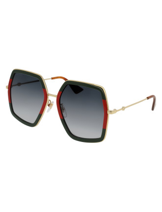 GG0106S-007 56 Sunglass WOMAN METAL