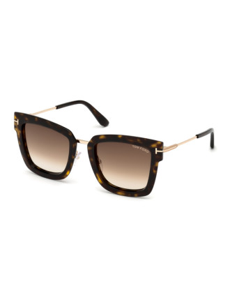 TOM FORD SUNGLASS  573 LARA 52F 52 22