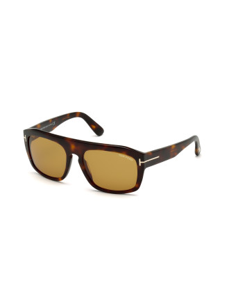 TOM FORD 'CONRAD' MENS SQUARE SUNGLASSES