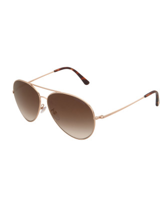 TOM FORD 417-D MENS PILOT SUNGLASSES