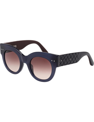 Bv0008s Bold Round Sunglasses