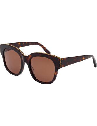 Sc0007s Oversized Round Sunglasses