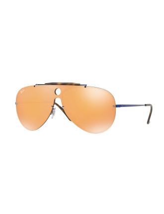 Steel Unisex Sunglasses-RB3581N