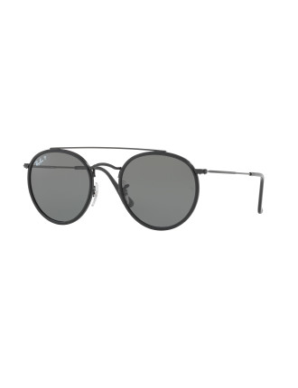Metal Unisex Sunglasses-RB3647N