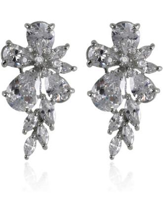 Wisteria Dusk Cuff Earrings