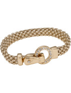Crystal Circle Magnetic Bracelet