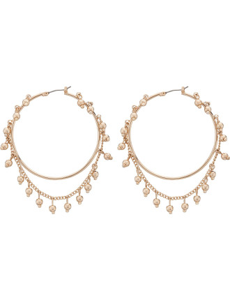 Nightfall Hoop Earrings