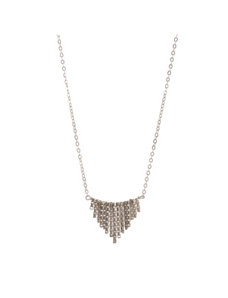 Your Shine Is 1 Of A Kind Small Fringe 18' Boxed Necklace