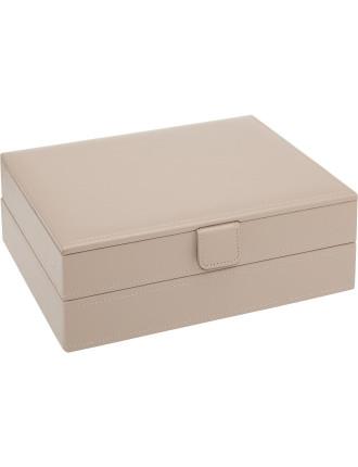 2 PART LARGE JEWELLERY BOX