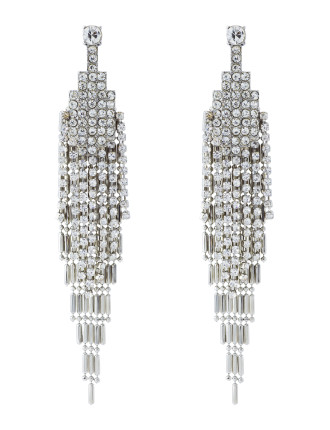 TRES CHIC STATEMENT EARRINGS