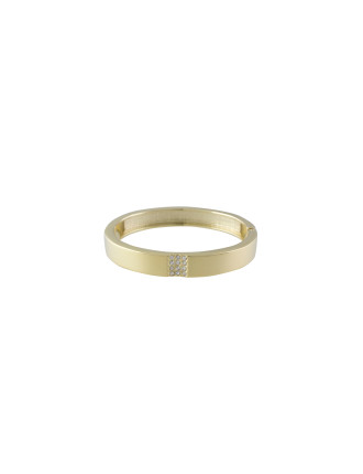 Stoneset Hinged Bangle