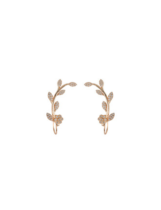 Wild Decadence Cuff Earrings