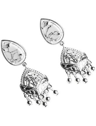 MONTAGUE & CAPULET TEARDROP EARRINGS