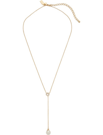 Purely Pearly Y Necklace