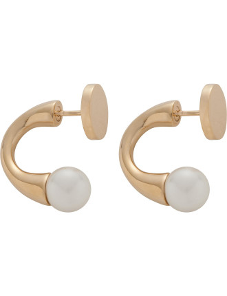 Darcey Round Earrings