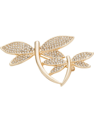 Dragonfly Brooch In Giftbox