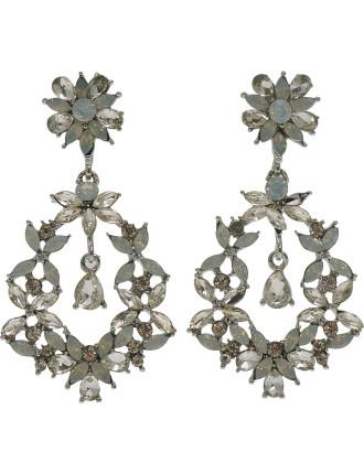Two Tone Drop Earrings