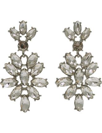 Drop Crystal Earring