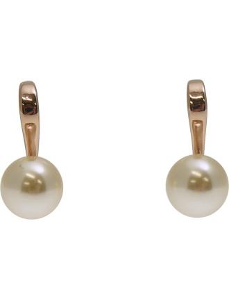 Illusion Hoop W Pearl