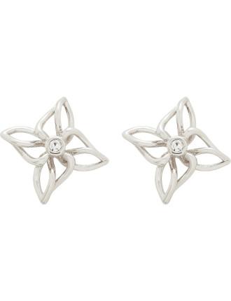 Carmena: Crystal Breeze Stud Earring
