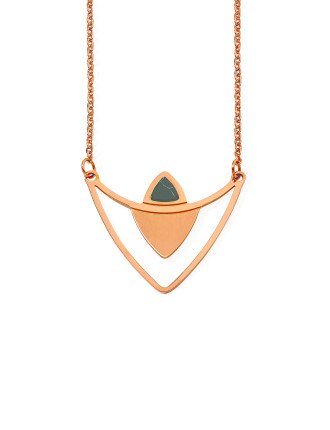 Lustrous Steel Necklace